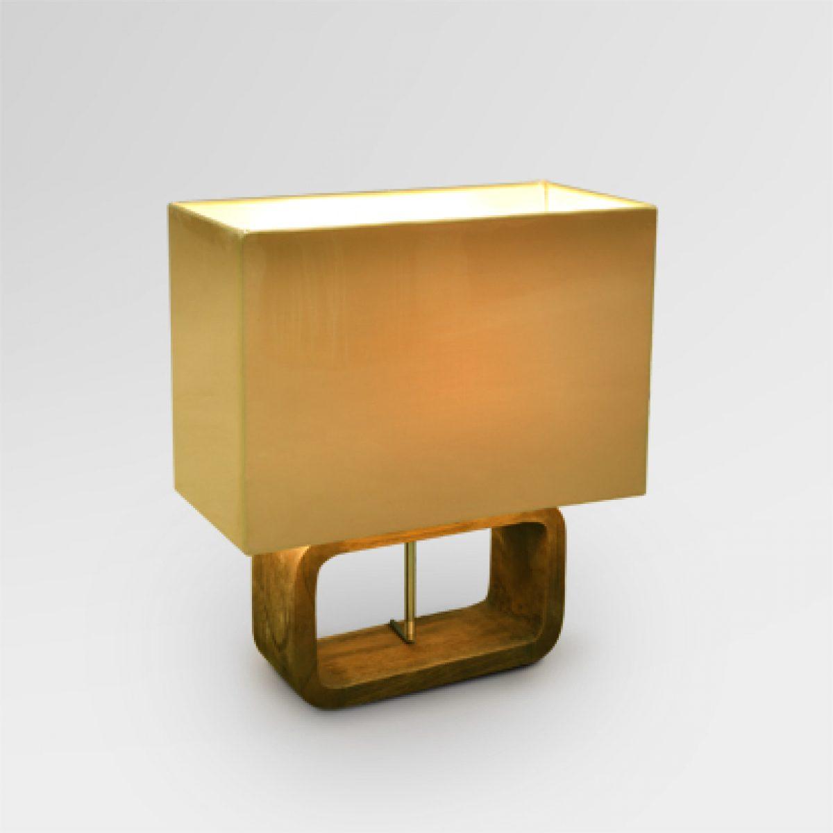 Fille Teak Table Lamp concernant Lulu Impression