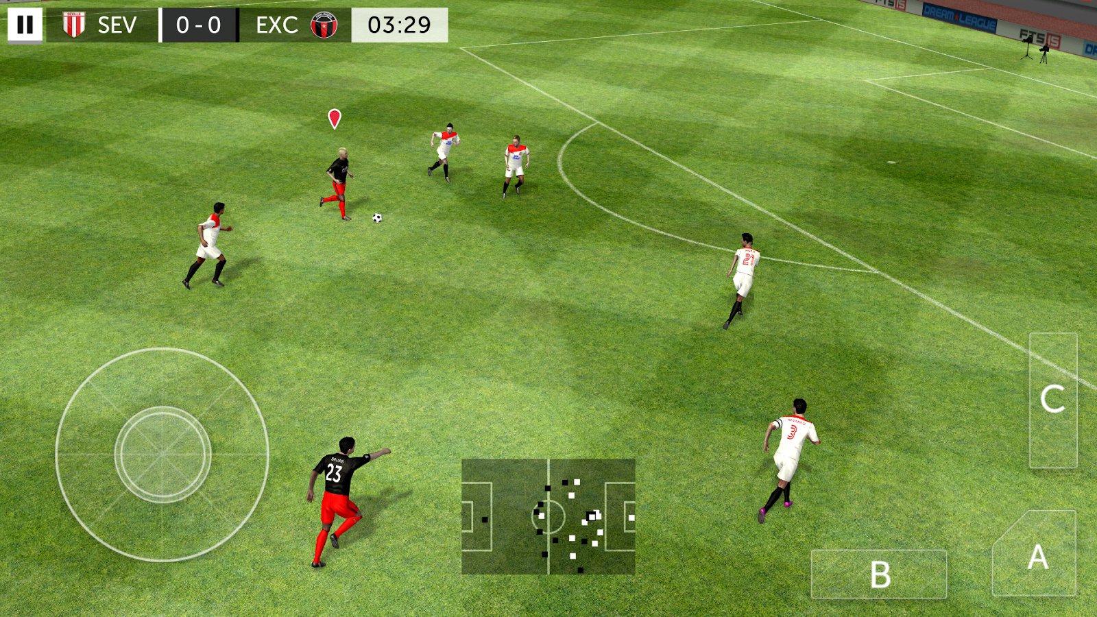 First Touch Soccer 2015 2.09 - Télécharger Pour Android Apk destiné Jeux Foot Tablette
