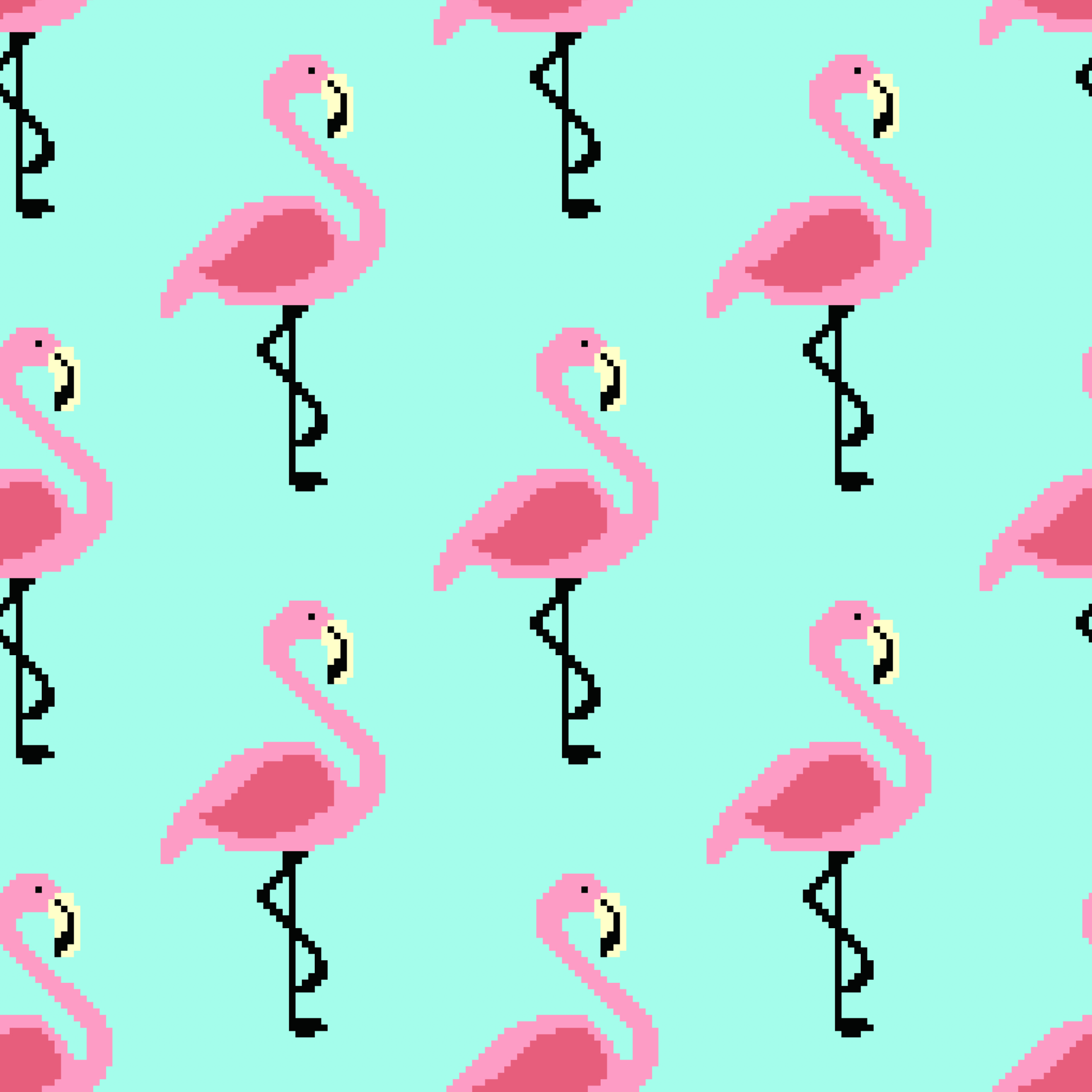 Flamant Rose Free Vector Art - (309 Free Downloads) intérieur Pixel Art Flamant Rose