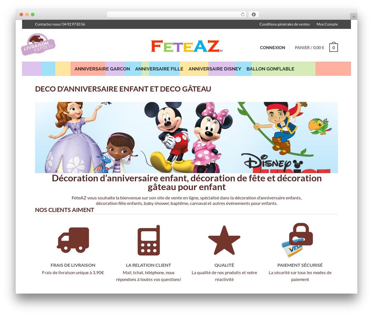 Flatsome WordPress Website Template By Ux-Themes - Feteaz tout Ux De Fille