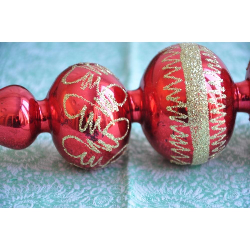 Flèche Cîmier Faîte Vintage Arbre Noël Verre Soufflé Grand serapportantà Fleche Pour Sapin De Noel