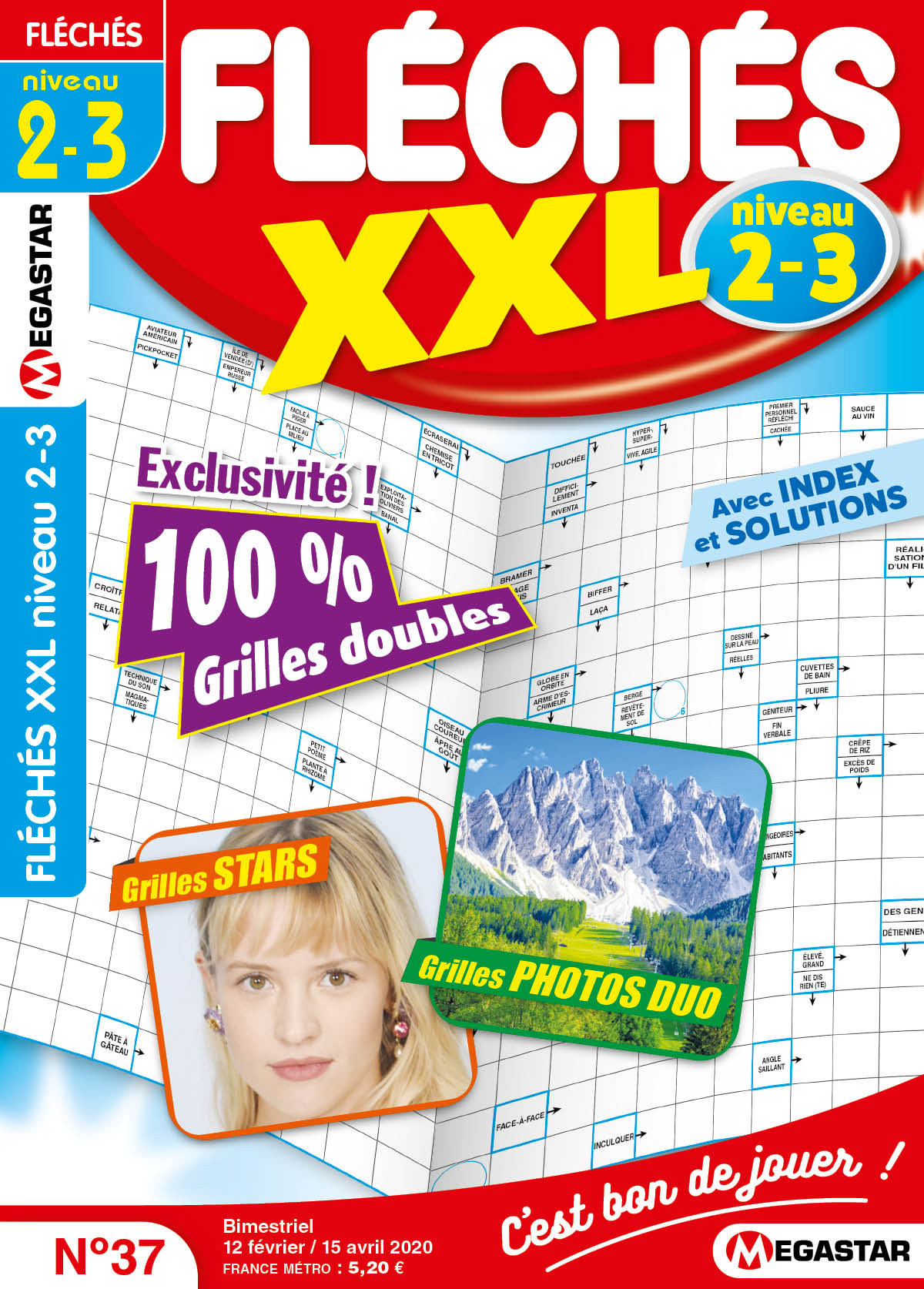 Fléchés Xxl Niveau 2-3 intérieur Grand Ensemble Mots Croisés