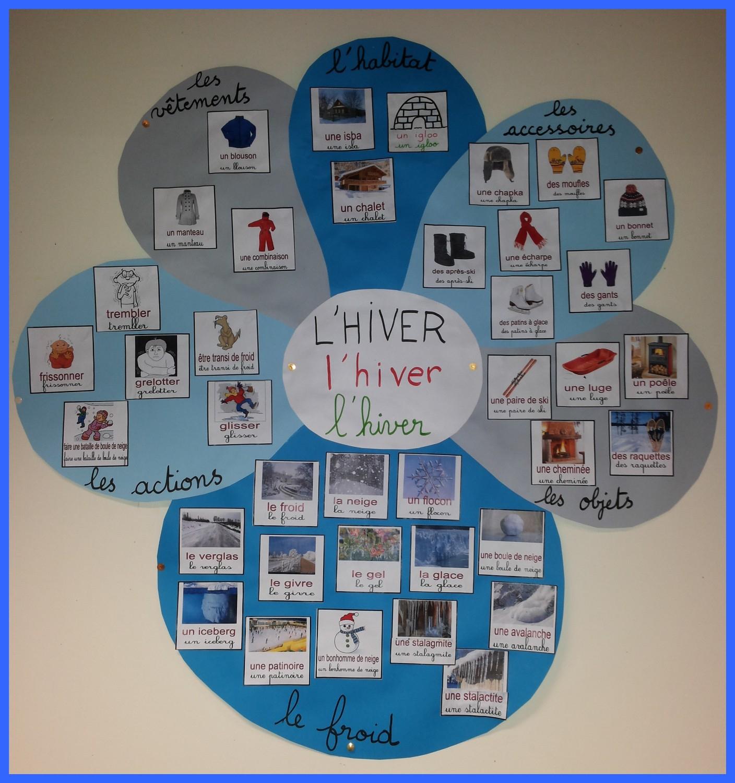 Fleur D'hiver - Objectif Maternelleobjectif Maternelle pour Activité Maternelle Hiver
