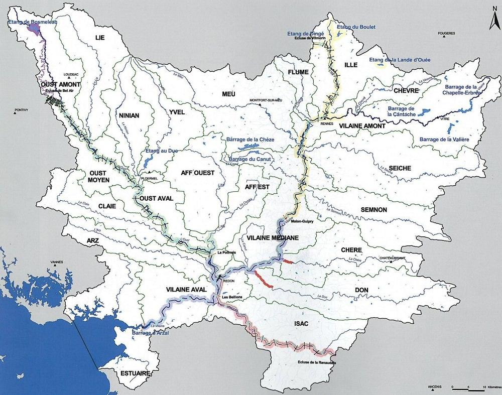 Fleuves Et Rivieres De France avec Carte Des Fleuves