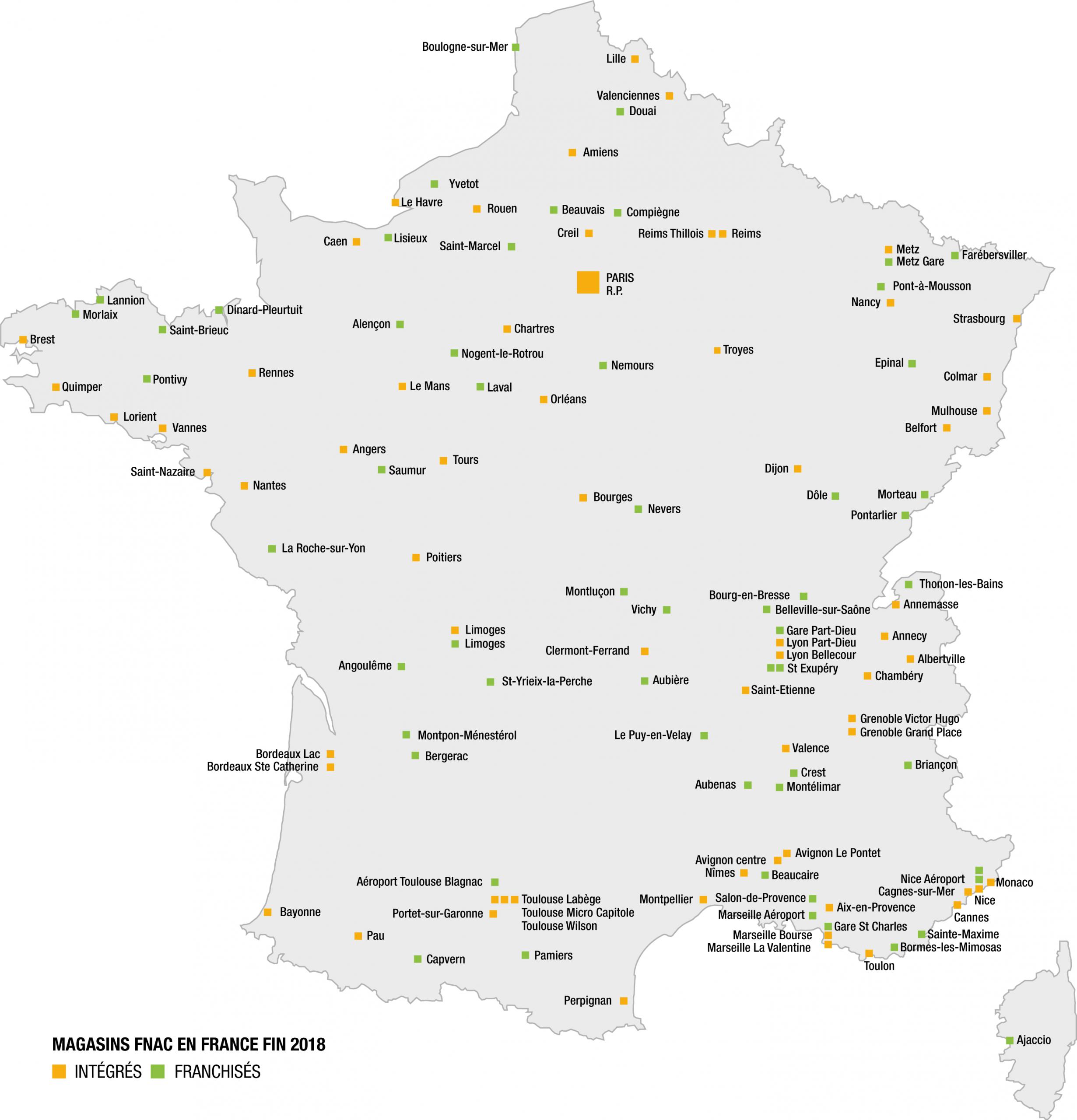 Fnac Darty Dans Le Monde - Fnac Darty destiné Carte De France Dom Tom