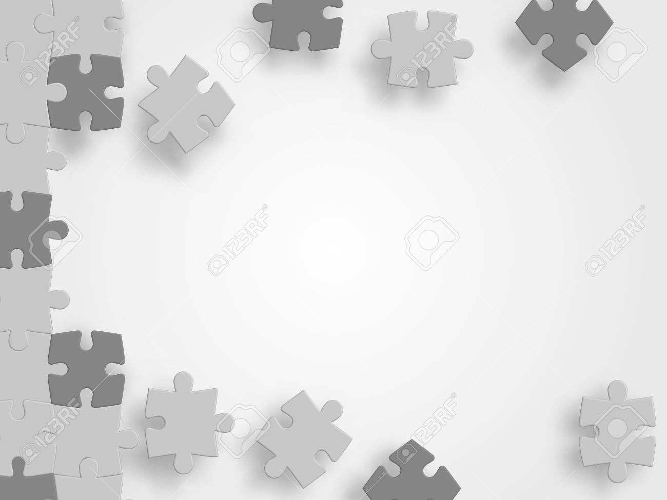 Fond De Vecteur Abstrait Fabriqué À Partir De Puzzle Puzzle Puzzle Puzzle .  Fond De Fond De Technologie . Illustration Vectorielle à Puzzle À Partir De Photo