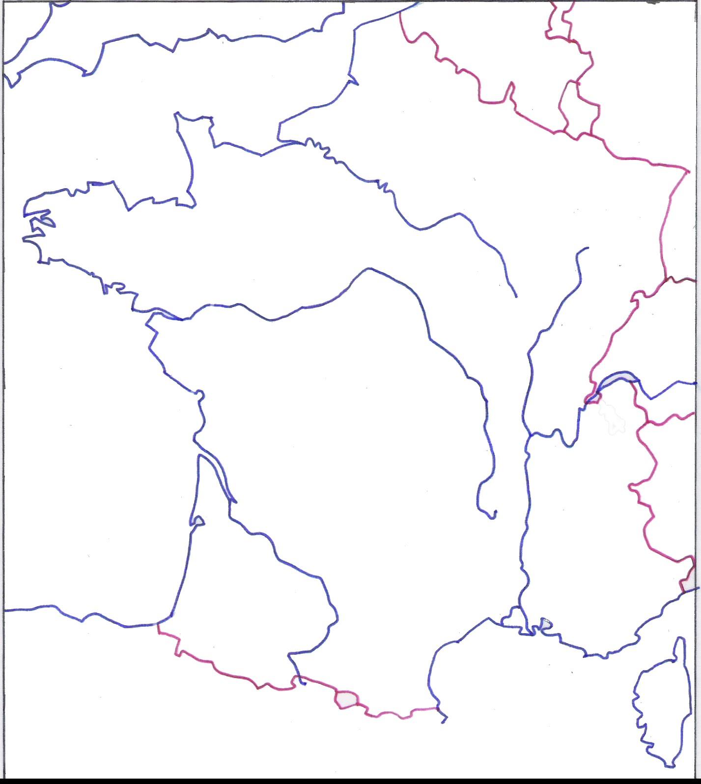 Fonds De Cartes - Les Pratiques De Classe De Mister Chat concernant Fond De Carte France Fleuves