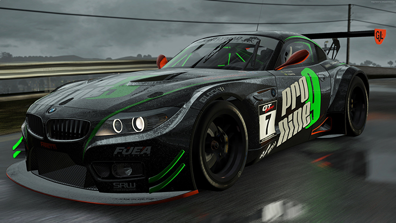 Fonds D'ecran Bmw Project Cars Noir Jeux Voitures destiné Telecharger Jeux De Voiture Sur Pc