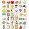 Food Bingo Concentration Game | Jeux A Imprimer, Apprendre L pour Jeux De Concentration À Imprimer