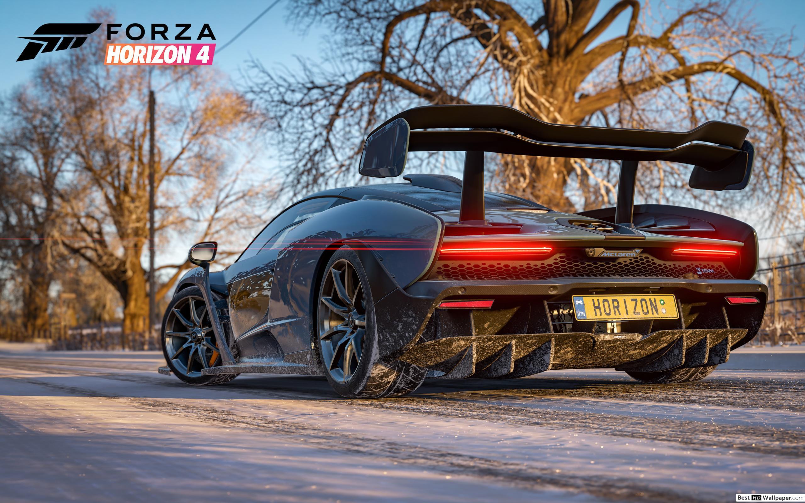 Forza Horizon 4 Jeu - Voiture De Course Mclaren Senna Hd destiné Jeux De 4 4 Voiture