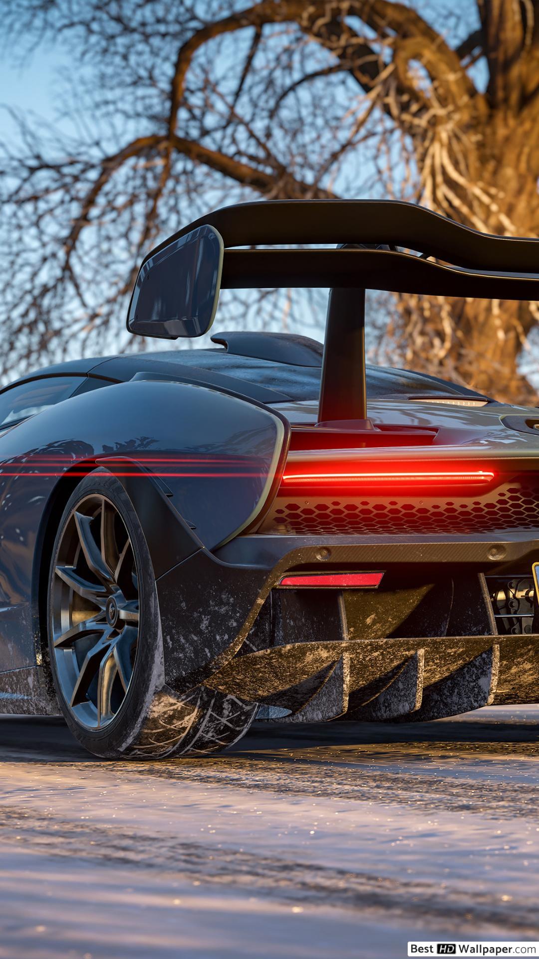 Forza Horizon 4 Jeu - Voiture De Course Mclaren Senna Hd pour Jeux De 4 4 Voiture