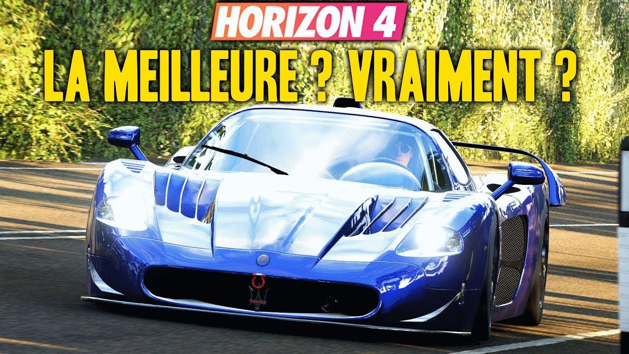 Forza Horizon 4 : La Meilleure Voiture Du Jeu ? Vraiment ? Maserati Mc12 Fe concernant Jeux De 4 4 Voiture