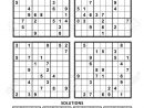 Four Sudoku Puzzles Of Comfortable (Easy, Yet Not Very Easy).. tout Sudoku Facile Avec Solution