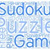 Free Sudoku Puzzle Text Background Wordcloud Concept pour Sudoku Gratuit Francais
