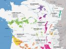 French Wine Exploration Map | Wine Folly dedans Map De France Regions