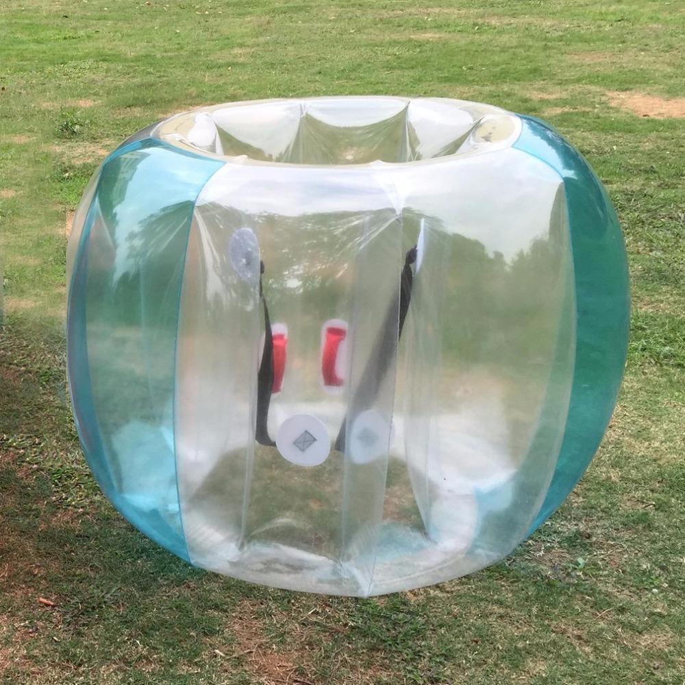 Fun Activité De Plein Air Pvc Gonflable Bubble Collision Pare-Chocs Tampon  Balle Entraînement Courir Sport Famille Jeu Costume Du Corps Loopy Balle encequiconcerne Jeux Des Bulles