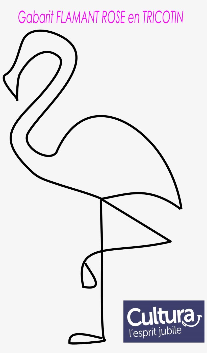 Gabarit Flamant Rose En Tricotin 2 315 × 3 070 Pixels destiné Pixel Art Flamant Rose