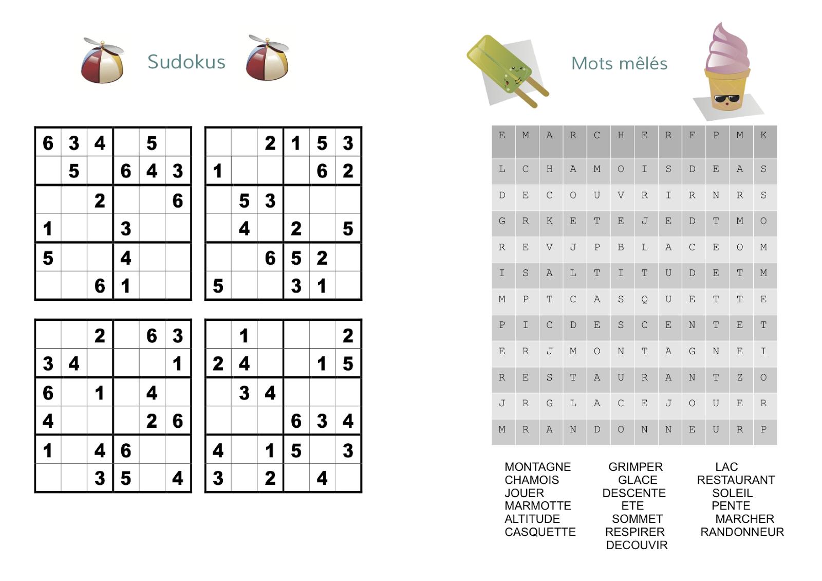 Gabulle In Wonderland: Un Carnet De Jeux Pour Occuper Les destiné Jeux Sudoku À Imprimer