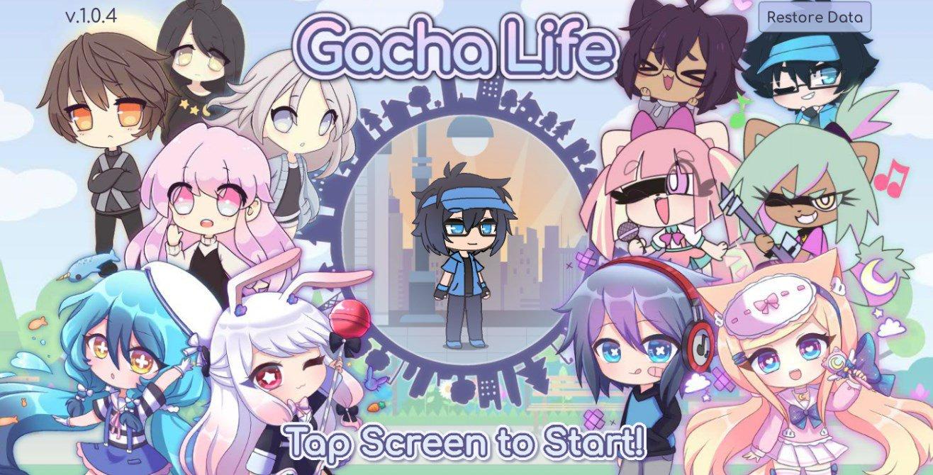 Gacha Life 1.1.4 - Télécharger Pour Android Apk Gratuitement intérieur Jeux De Personnage Gratuit