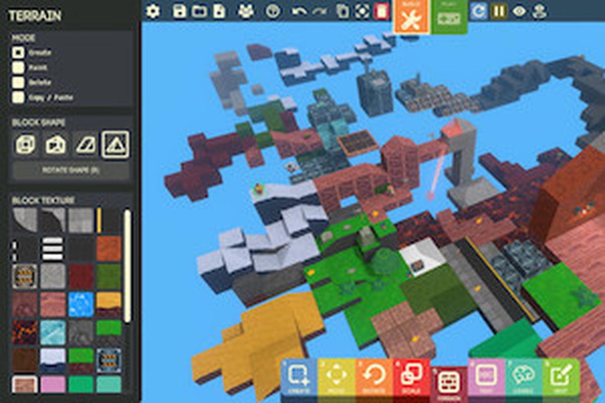 Game Builder, Le Logiciel Gratuit De Google Pour Créer Des avec Jeux De Personnage Gratuit