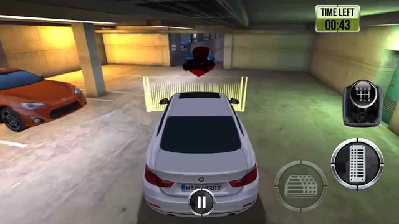 Gameplay : Jeu De Parking Souterrain Hd - Jeu Android Gratuit concernant Je De Voiture Gratuit