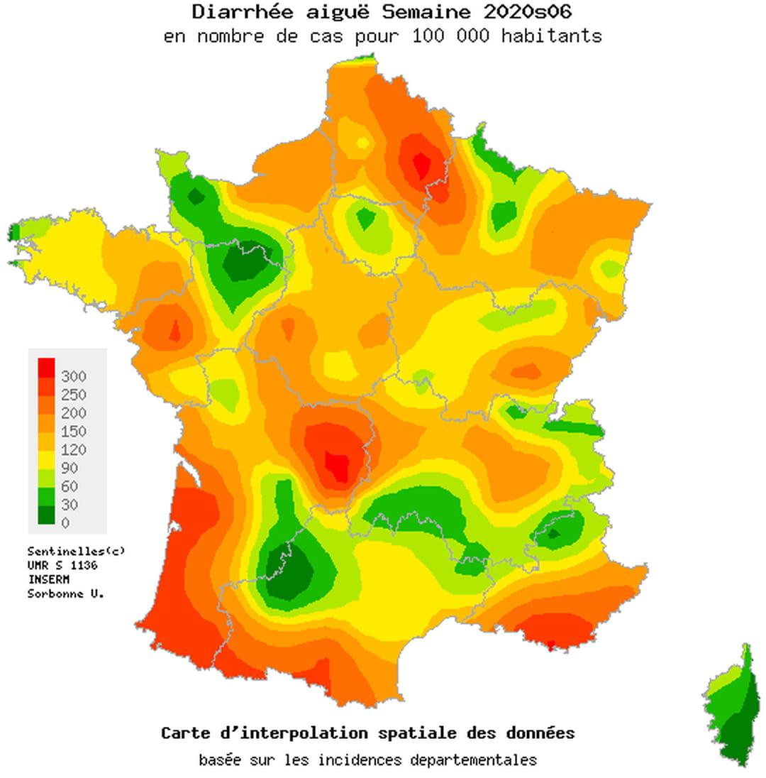 Gastro-Entérite : Comment L'éviter, La Soigner, Carte En France tout France Nombre De Régions