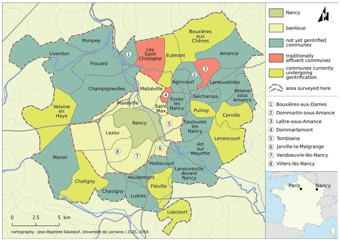Gentrification Of Peri-Urban Spaces In France – The encequiconcerne Gap Sur La Carte De France
