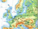 Géographie Cm1 Séquence 2 : Les Frontières De La France Et destiné Carte De L Europe En Relief
