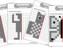 Geometrie : Ateliers Symétrie Et Exercices | Géométrie, Axe concernant Symétrie Ce1 Exercices