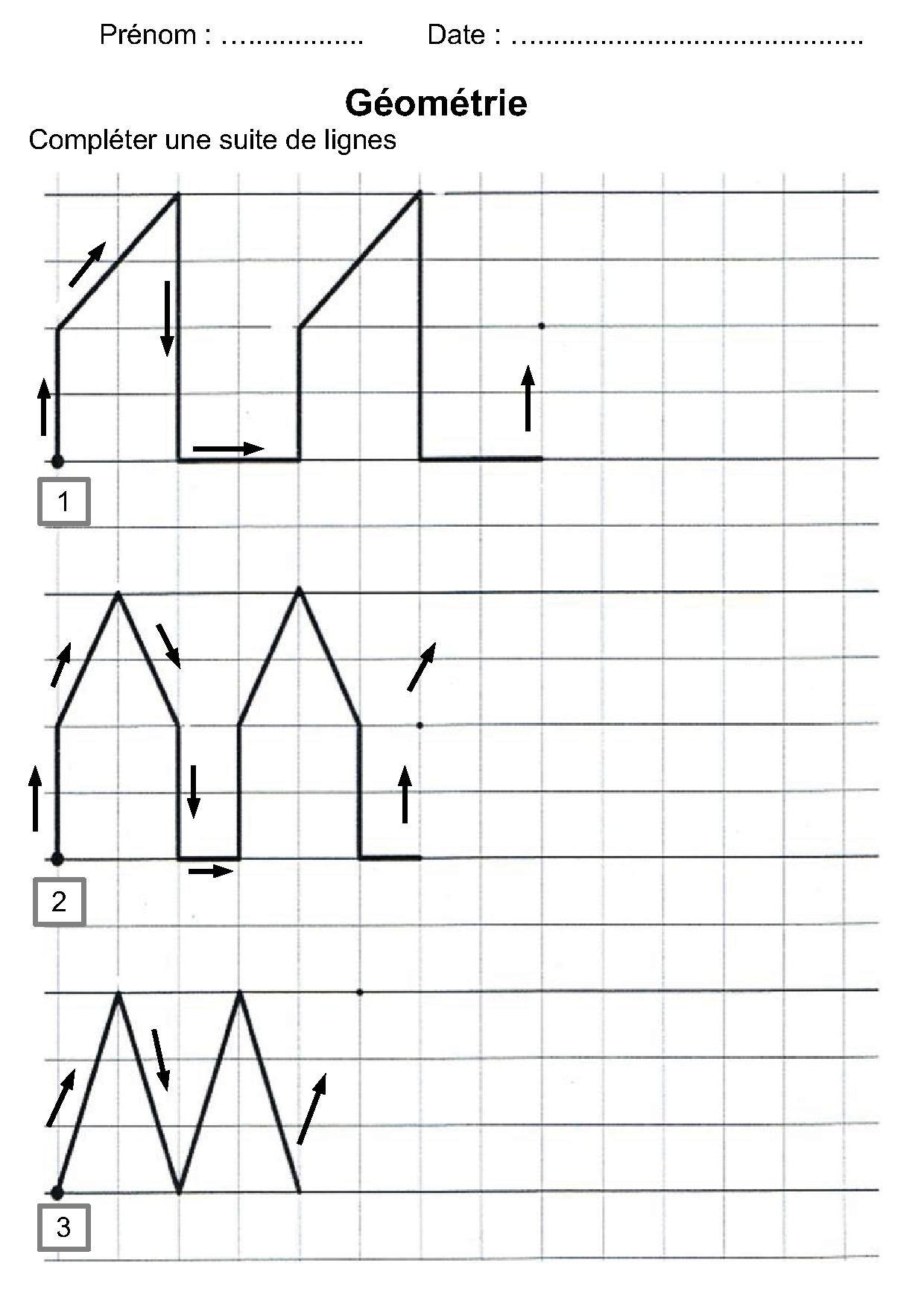 Géométrie Ce1,ce2,la Symétrie,reproduire Une Figure à Symétrie Ce1 Ce2