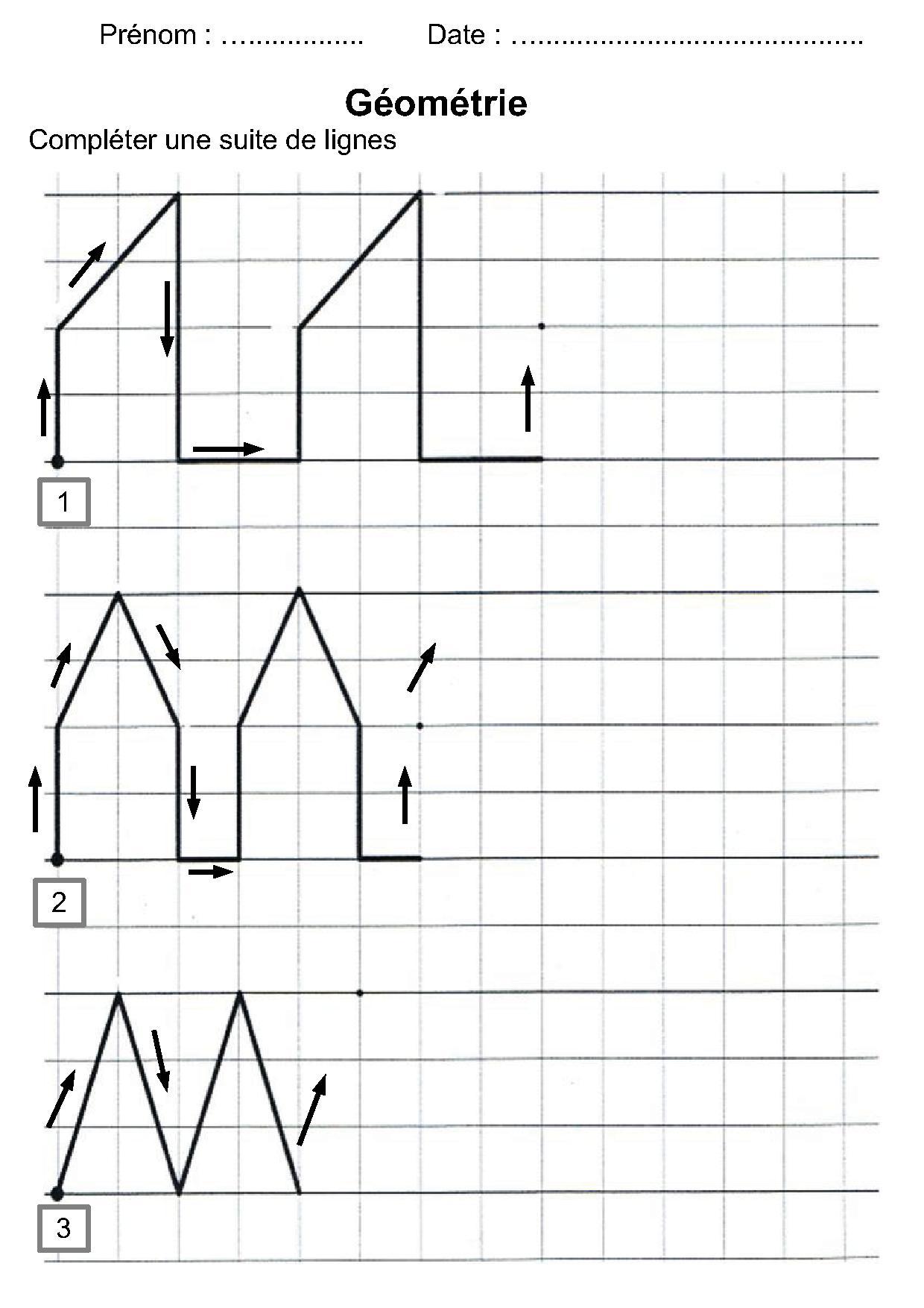 Géométrie Ce1,ce2,la Symétrie,reproduire Une Figure concernant Dessin Géométrique Ce2