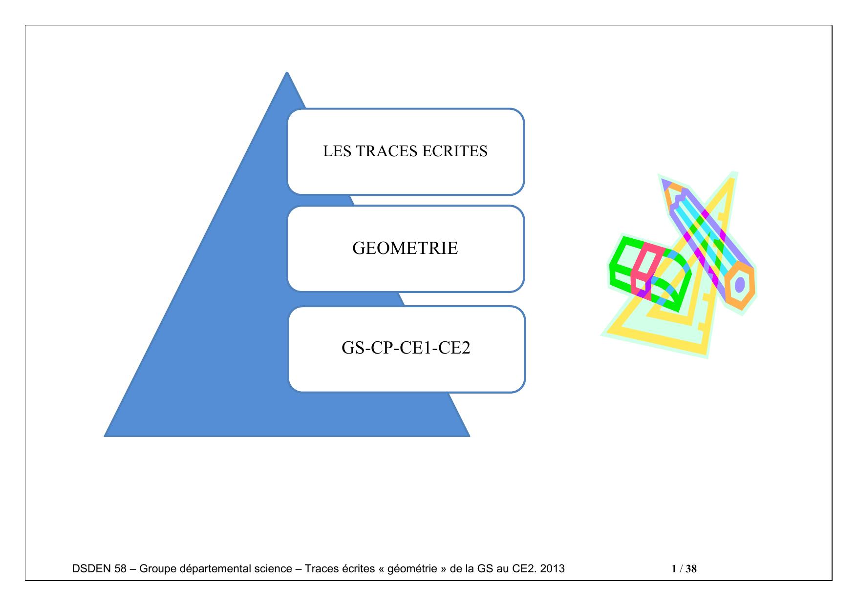 Geometrie Gs-Cp-Ce1-Ce2 - Bienvenue Sur Ariane 58 à Dessin Géométrique Ce2