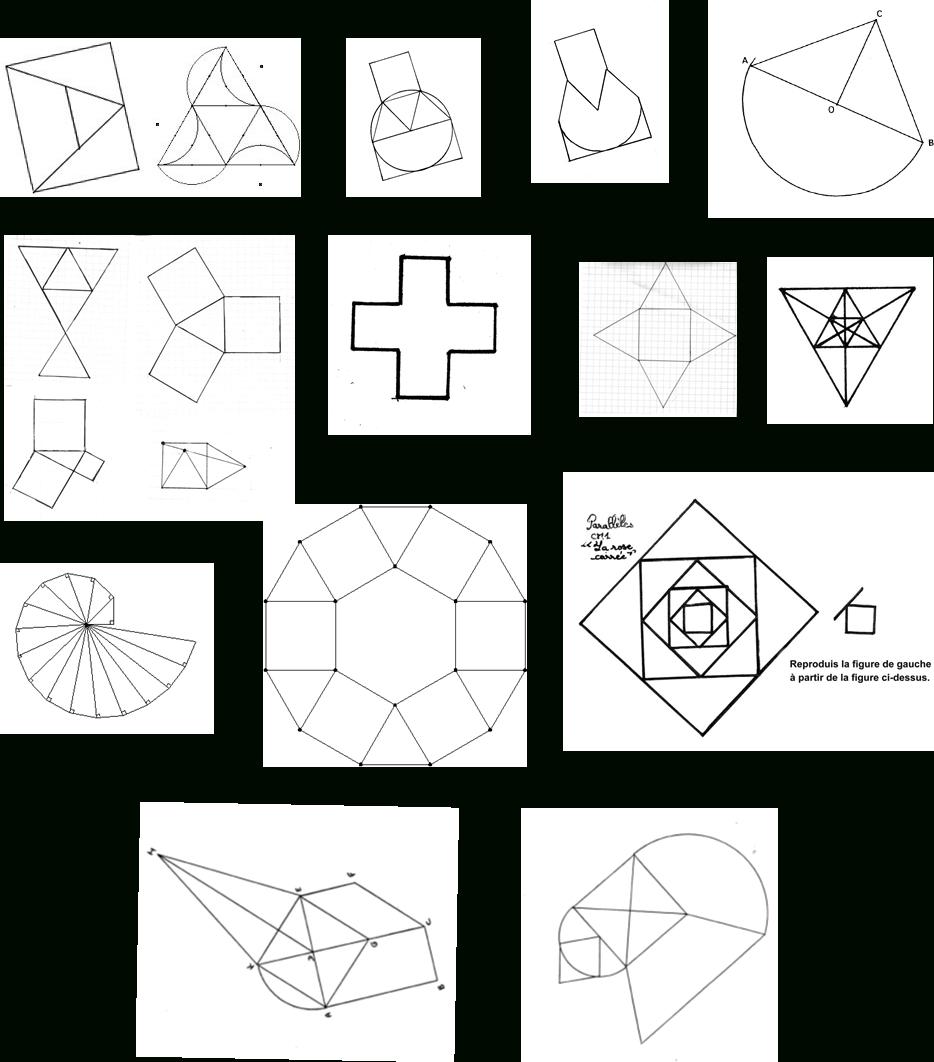 Géométrie | Ressources Du Plan Mathématiques 2018-2022 tout Dessin Géométrique Ce2