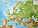 Georelief - Carte D'europe En Relief encequiconcerne Carte De L Europe En Relief