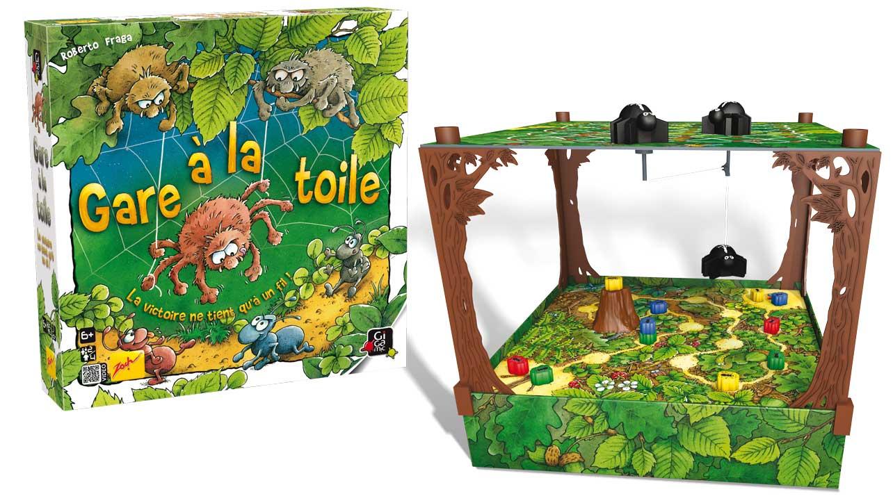 Gigamic - Gare À La Toile - Nouveauté Jeu Enfant avec Jeux Societe Enfant 6 Ans