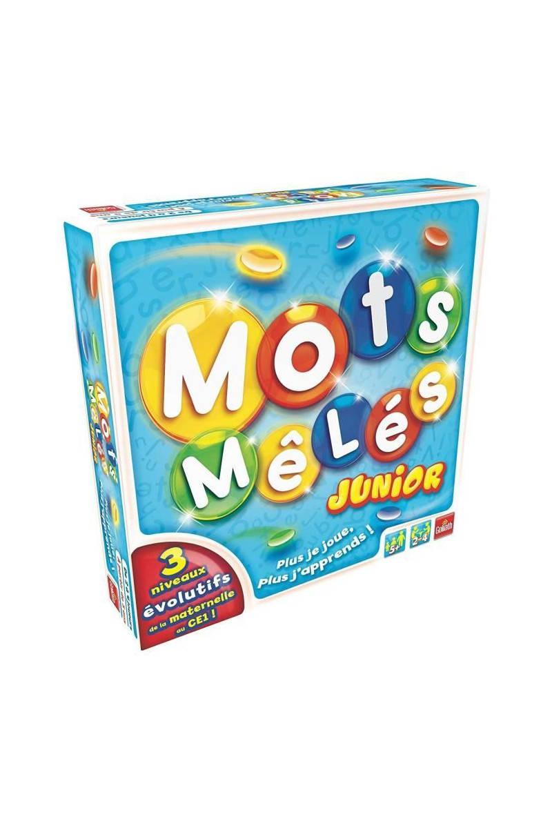 Goliath - Mots Meles Junior , Goliath - Jeu De Plateau - Mots Melés Junior  - Les Enfants Ont Enfin Leur Propre Version Du Mots Mel Tati.fr à Mots Meles Jeu