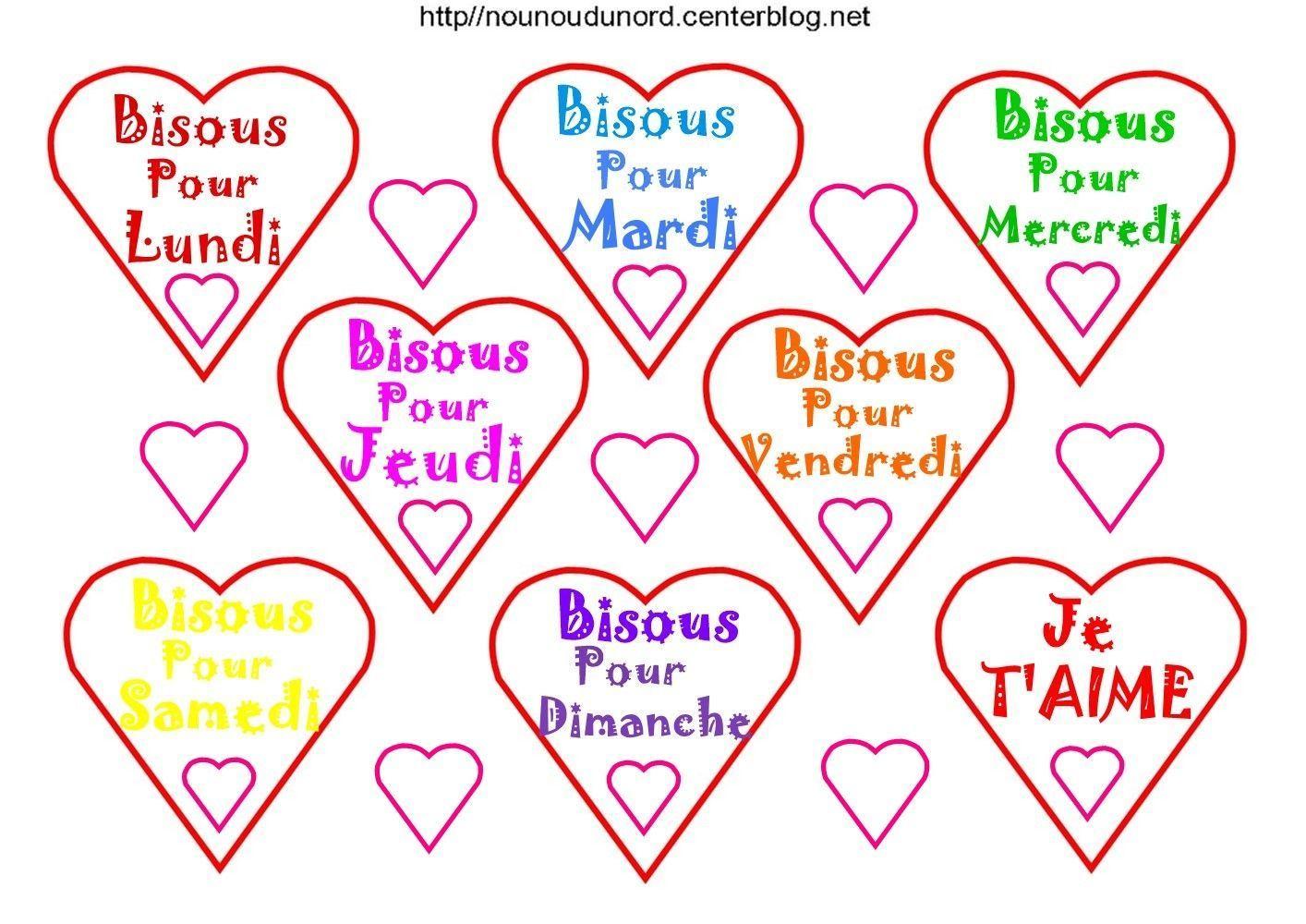 Gommettes Coeur à Coeur A Imprimer Et Decouper