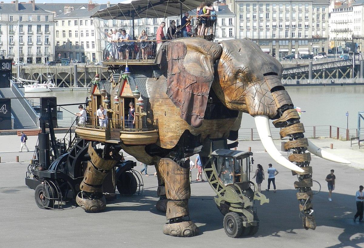 Grand Éléphant — Wikipédia à Barrissement Elephant