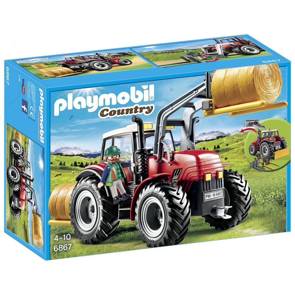 Grand Tracteur Agricole - 6867 tout Jeux Gratuit Tracteur A La Ferme