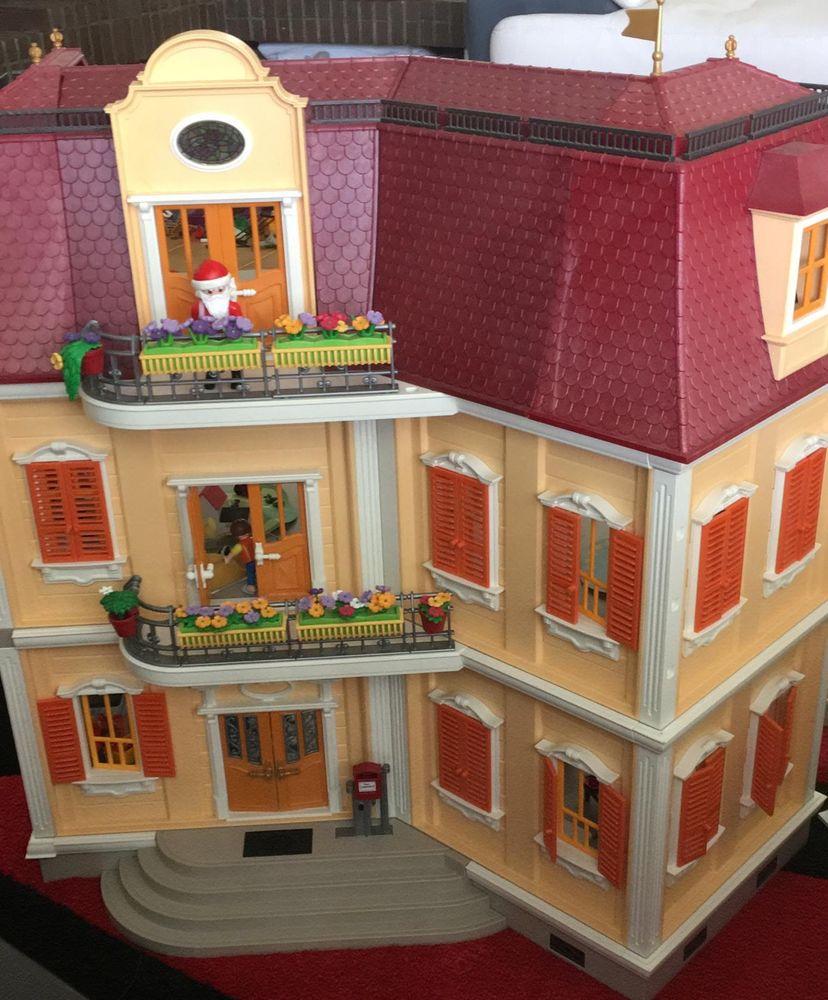 Grande Maison Playmobil destiné Jeux De Grande Maison