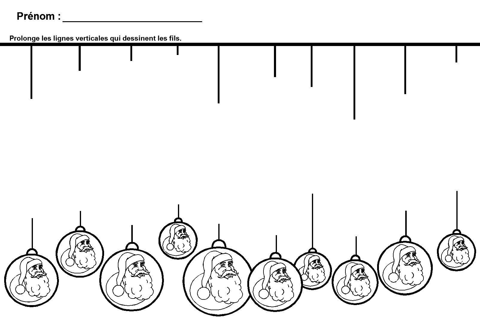 Graphisme De Noël En Maternelle La Ligne | Noel Maternelle pour Noel Maternelle Grande Section