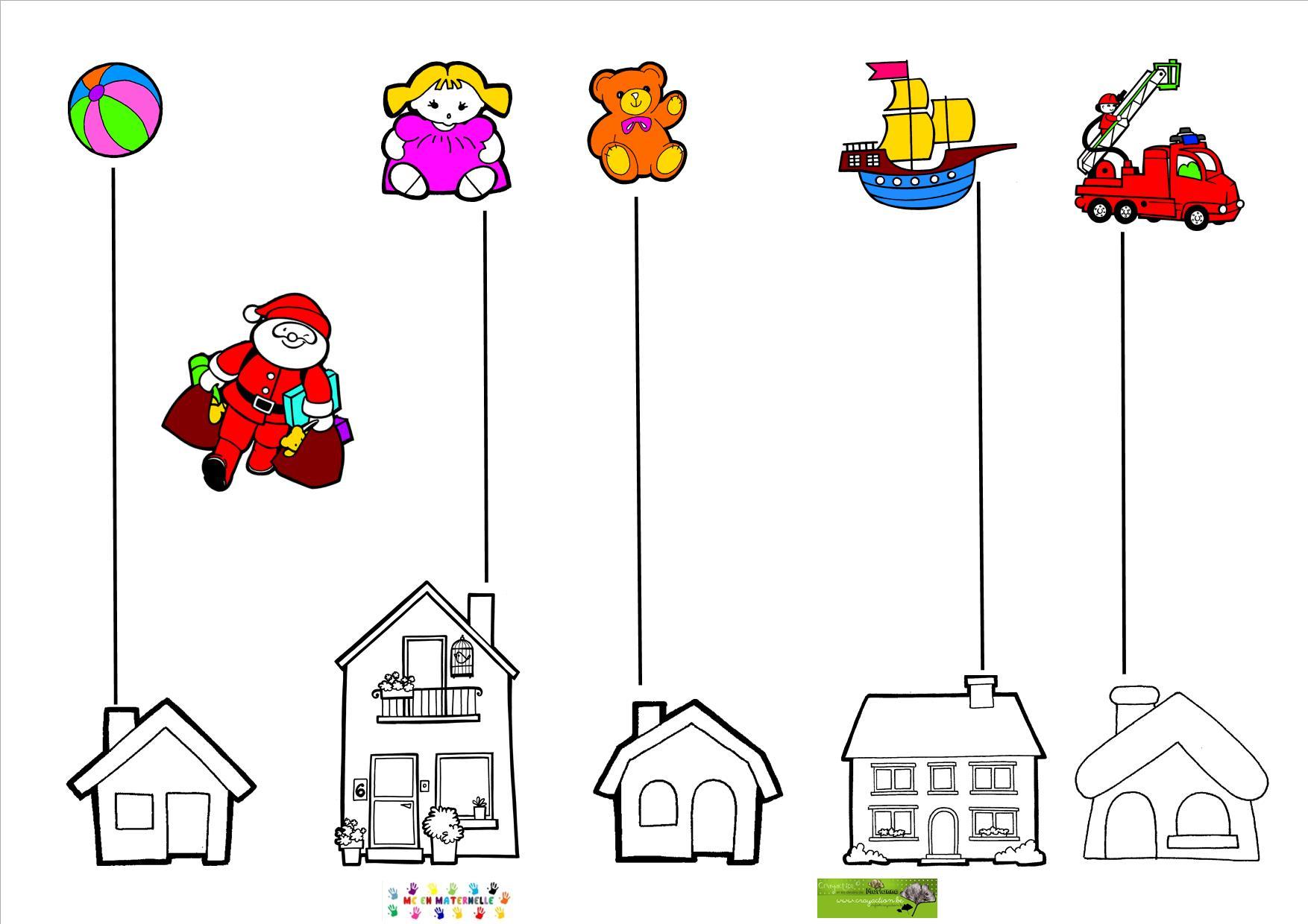 Graphisme Et Noël : Trait Vertical – Mc En Maternelle pour Graphisme Traits Verticaux