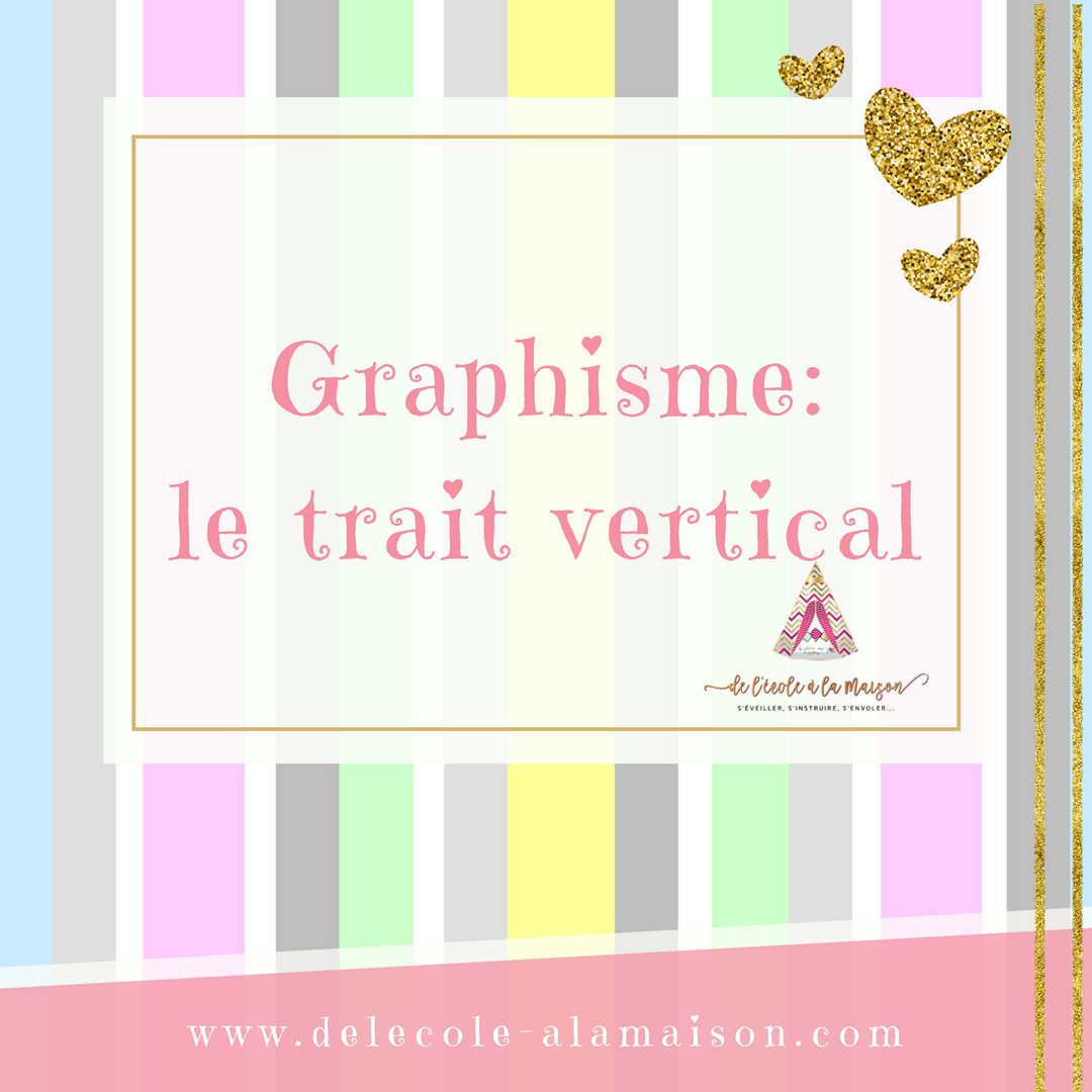 Graphisme - Le Trait Vertical - dedans Graphisme Traits Verticaux