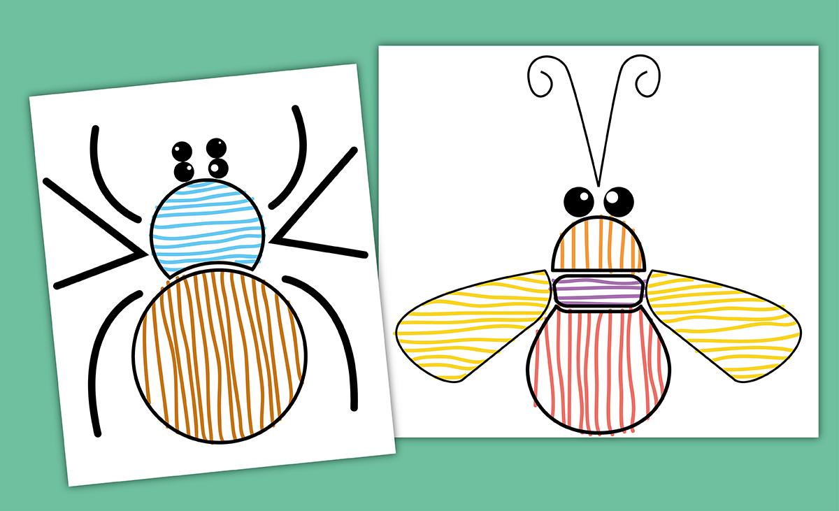 Graphisme Maternelle Petite Section | Fiche Graphisme Ps concernant Exercice De Graphisme Petite Section A Imprimer