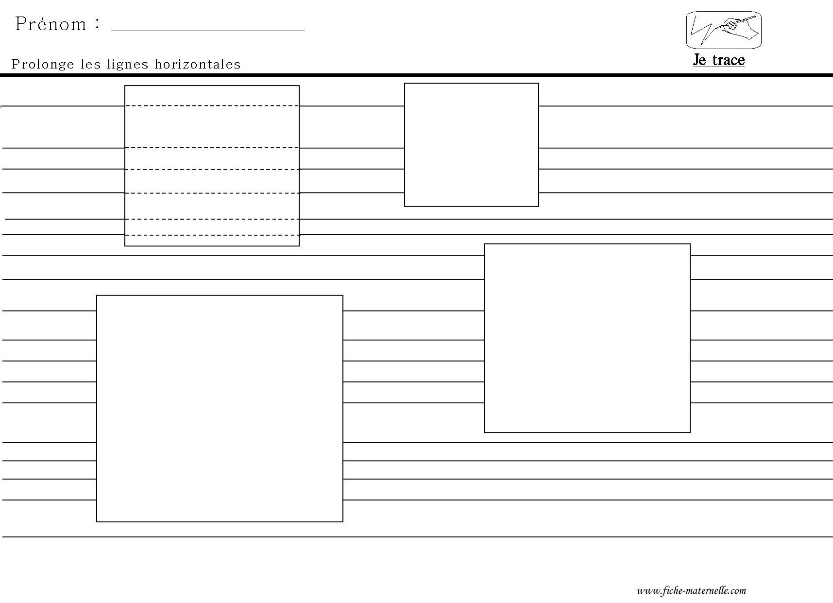 Graphisme Tracer Des Lignes Horizontales Prolonger Les Traits intérieur Graphisme Traits Verticaux