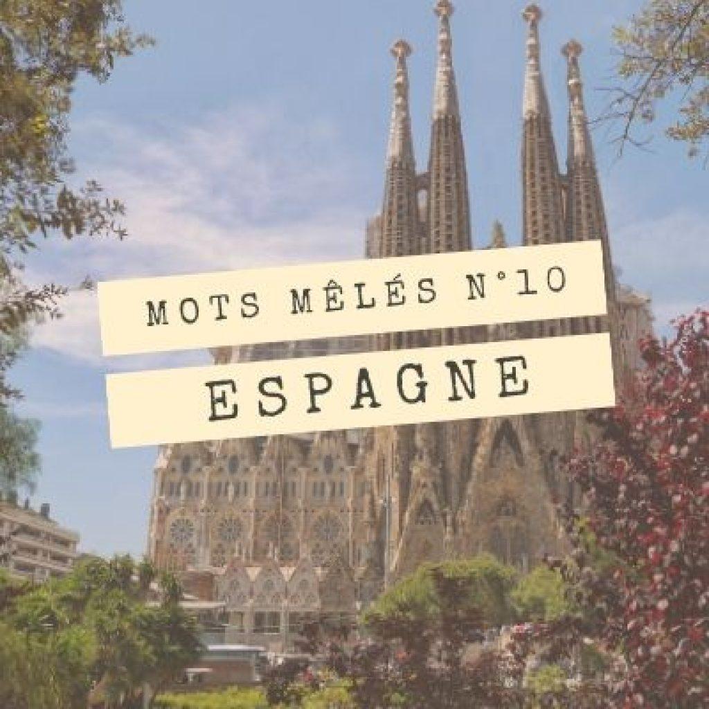 Grille De Mots-Mêles Gratuit : Destination Espagne - Je-Teste pour Mot Mele Telecharger Gratuit