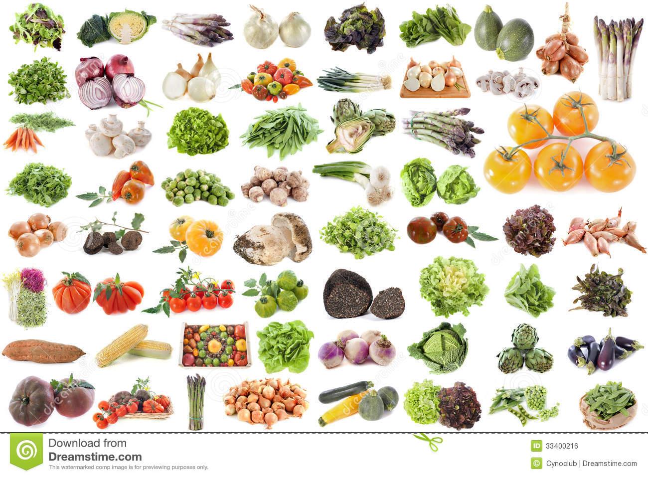 Group Of Vegetables Stock Photo. Image Of Fresh, Truffle tout Nom Legume