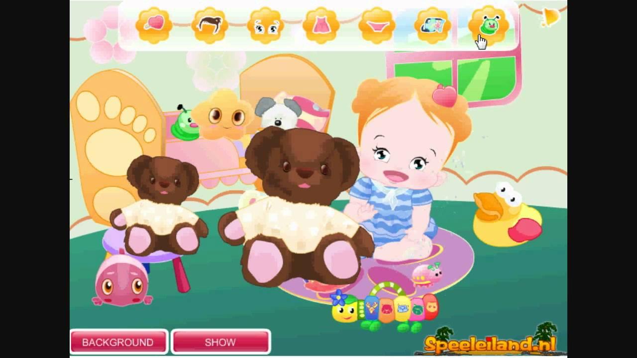Habille La Bébé Fille - Jeux De Bébé Gratuit encequiconcerne Jeux De Bébé Animaux Gratuit