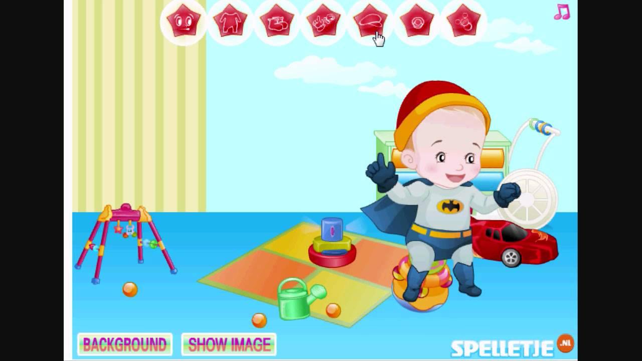 Habille Le Bébé Garçon - Jeux De Bébé Gratuit. .titter.fr à Jeux De Bébé Garçon