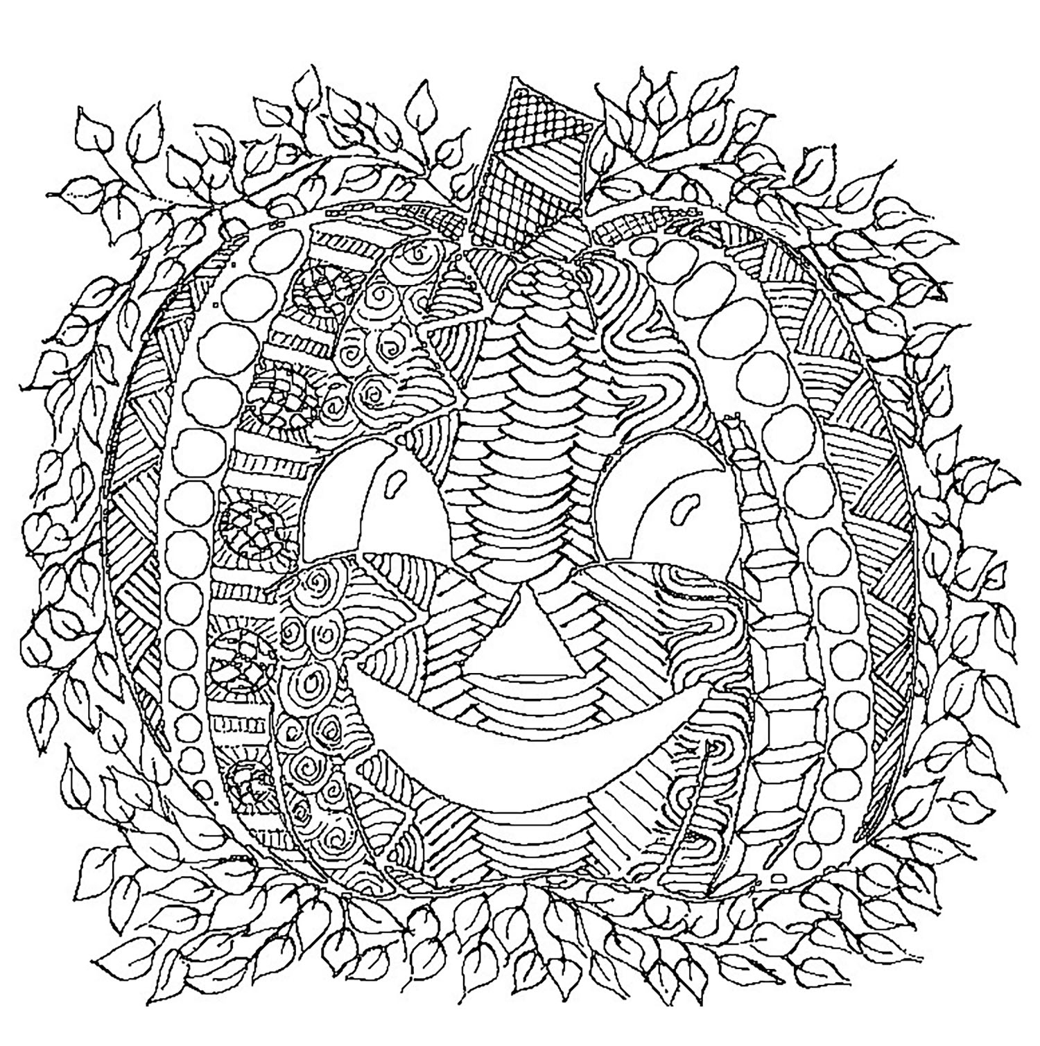 Halloween Citrouille Dessin - Halloween - Coloriages à Dessin Halloween Citrouille A Imprimer Gratuit